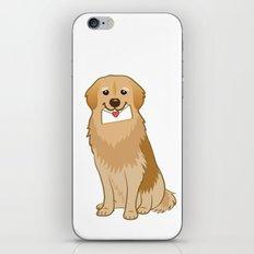 Love Golden Retriever iPhone & iPod Skin