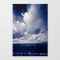 summer ver.blueblack Canvas Print