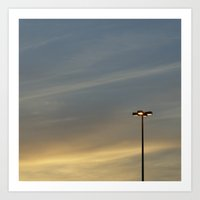 Streetlight No.4 Art Print