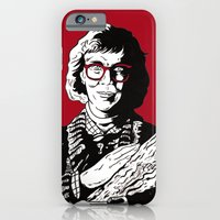 iPhone & iPod Case featuring The Log Lady by Shawn Dubin