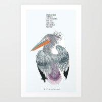Pelican Island Art Print