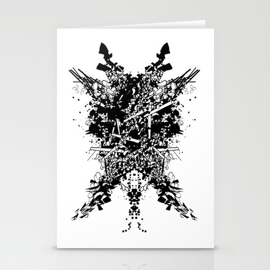 Abstract no. 7 Stationery Card