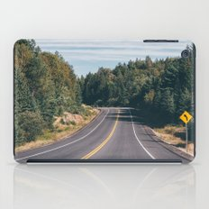 turn left iPad Case