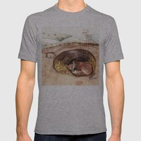 Fox's Den Mens Fitted Tee Athletic Grey SMALL