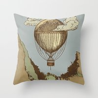 Around The World The Inc… Throw Pillow