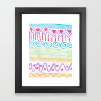 Easter Egg Hunt Framed Art Print