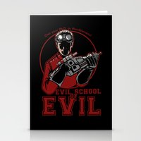 Dr. Horrible's Evil Scho… Stationery Cards