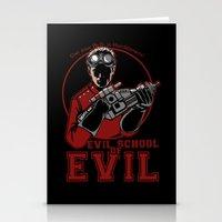 Dr. Horrible's Evil School of Evil Stationery Cards