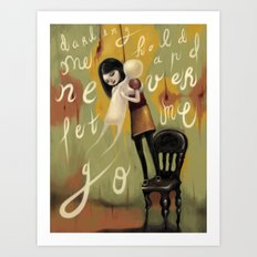 Never Let Me Go Art Print