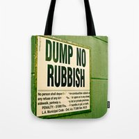 Rubbish Tote Bag