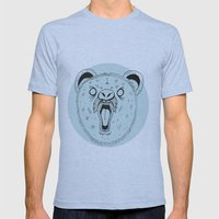 THE BEAR Mens Fitted Tee Athletic Blue SMALL