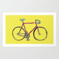 this is my bike. Art Print