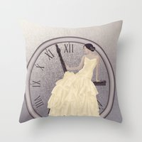 Time's Passing Throw Pillow