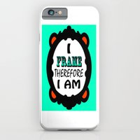 iPhone & iPod Case featuring I Frame.... Fancy by Jay's Bizangos