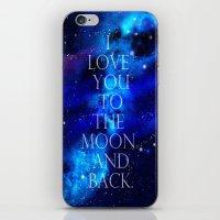 I Love You.. iPhone & iPod Skin