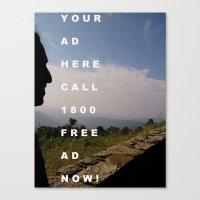FREE ADDITIVES Canvas Print