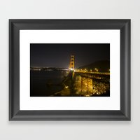 Magical Night Framed Art Print