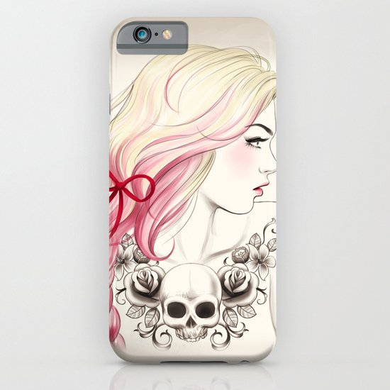 Tattoo Girl iPhone & iPod Case