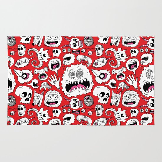 Another Monster Pattern Area & Throw Rug