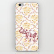 iPhone & iPod Skin featuring Elephant by Carrie Baum