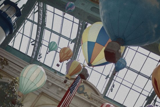 So Let's Spend The Afternoon In a Cold Hot Air Balloon Art Print