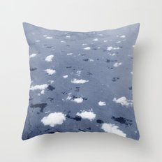 Clouds over the Australian outback. Throw Pillow