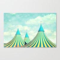 circus tent 2 Canvas Print