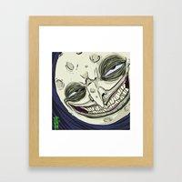 Mr. Moon Framed Art Print