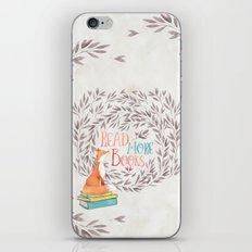 Read More Books - Fox iPhone & iPod Skin