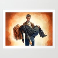 Asylum Of The Daleks - D… Art Print
