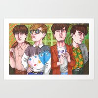 Don't Try To Look Hip, Be Hip! Art Print