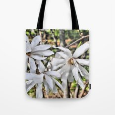 waving flowerheads Tote Bag