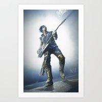 Nikki Sixx Art Print