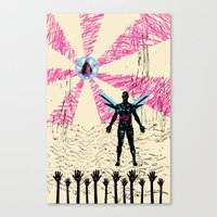 starman comes to which planet? Canvas Print
