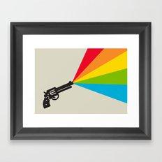 Colour Explosion Framed Art Print