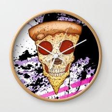 Skull Slice Wall Clock