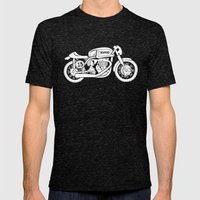 Norton Model 30 - Cafe Racer series #2 Mens Fitted Tee Tri-Black SMALL