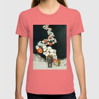 The Strand Womens Fitted Tee Pomegranate SMALL