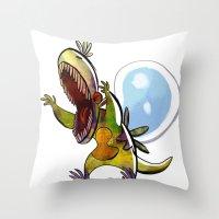 Dewchops Throw Pillow