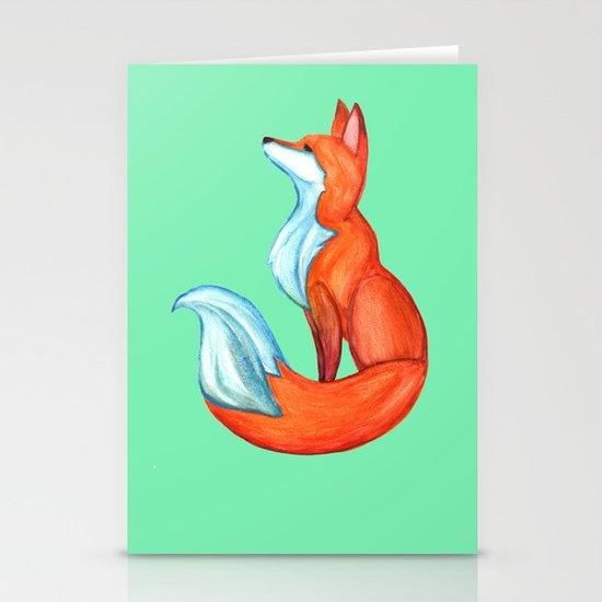 Fox Tale Stationery Card
