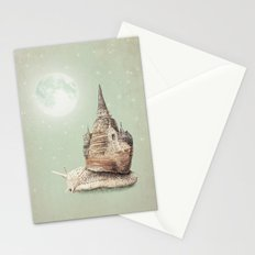 The Snail's Dream Stationery Cards