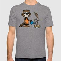 Groot Grief! Mens Fitted Tee Tri-Grey SMALL