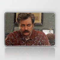 Ron Swanson, Nick Offerman, Parks and recreation Laptop & iPad Skin