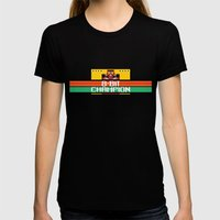 8-Bit Champion Womens Fitted Tee Black SMALL