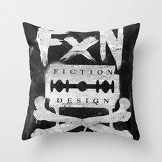 Fiction Design Throw Pillow