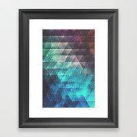 Brynk Drynk Framed Art Print