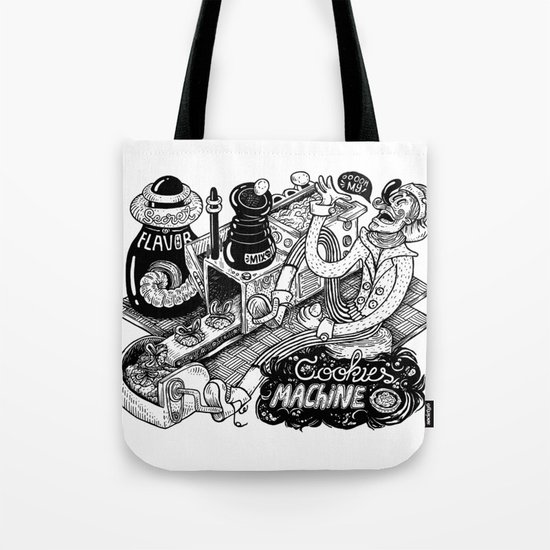 Cookies Machine Tote Bag