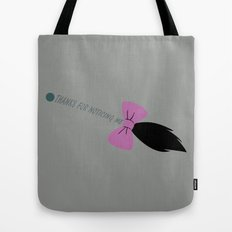 Thanks for Noticing Me (Gray Version) Tote Bag
