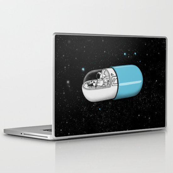 Space Capsule Laptop & iPad Skin