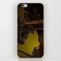 Blackened October Sunfall iPhone & iPod Skin